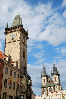 Free Prague Astronomical Clock Royalty Free Stock Image - 20549576