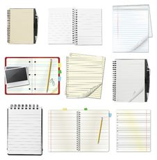 Free Notebooks Stock Images - 20549604
