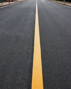 Speed Open Road Royalty Free Stock Image