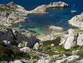 Free Open Berth In The Islands Out Of Marseille Royalty Free Stock Photos - 20551438