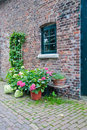 Free Sidewall Of An Old Dutch Farmhouse Royalty Free Stock Image - 20554696