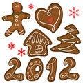 Free Christmas Cookies Stock Photo - 20556160