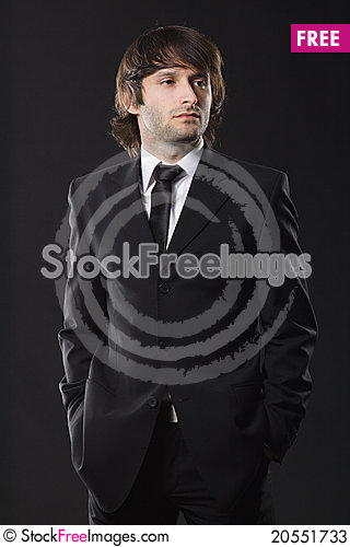 Free Handsome Young Man Stock Photos - 20551733