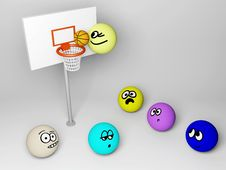 Free Basketball Royalty Free Stock Photography - 20550137