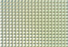Free Metallic Pyramids Wall Background Royalty Free Stock Photography - 20550777