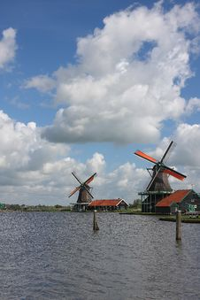 Free Windmills In Holland Stock Images - 20551004