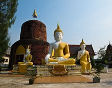 Free Thailand Temple Stock Photography - 20551102