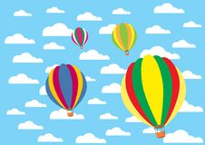 Free Colorful Balloons Royalty Free Stock Photos - 20551158