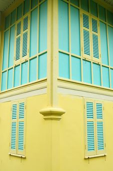 Free Colorful Vintage Building Stock Photo - 20551510