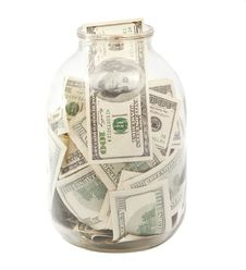 Free Dollars In The Bank Royalty Free Stock Photo - 20551725
