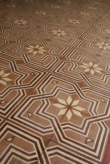 Free Floor Tile At Chino Portuguese Houses In Phuket Stock Photos - 20551843