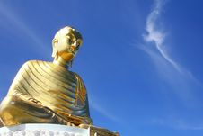 Free Huge Buddha Sculpture Royalty Free Stock Image - 20552026