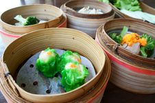 Free Steamed Dimsum Stock Photography - 20552192