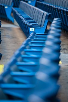 Free Stadium Seating Royalty Free Stock Photography - 20552397