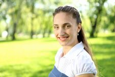 Free Portrait Of Young Woman Outdoor Stock Image - 20553051