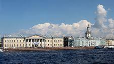 Free View Of Universitetskaya Embankment Royalty Free Stock Photo - 20553175
