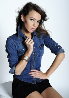 Free Jeans Style Stock Image - 20553191