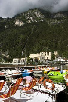 Riva Del Garda City Royalty Free Stock Photo