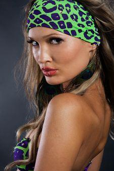 Gorgeous Woman In Bikini Stock Photo
