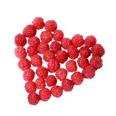 Free Heart Made Of Raspberries Royalty Free Stock Photos - 20553358