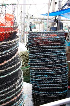 Free Crab Traps Royalty Free Stock Images - 20554469