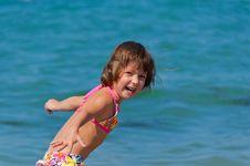 Free Happy Child On The Beach Royalty Free Stock Photos - 20554748