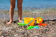 Free Toys On The Beach Stock Photo - 20554840