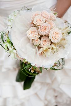 Free Wedding Bouquet Stock Photography - 20555072