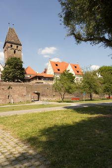 Free Medieval Ulm Royalty Free Stock Photo - 20555125