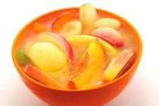 Free Ice Fruits In Bowl Stock Photos - 20555163