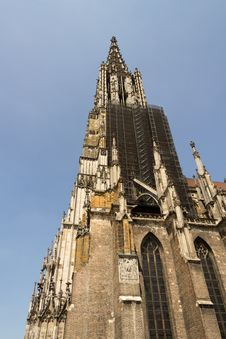 Free Medieval Cathedral Of Ulm, In Southern Germany Royalty Free Stock Images - 20555219