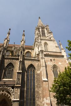 Free Medieval Cathedral Of Ulm, In Southern Germany Royalty Free Stock Image - 20555266
