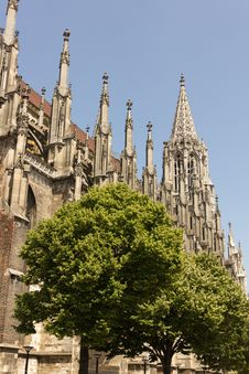 Free Medieval Cathedral Of Ulm, In Southern Germany Royalty Free Stock Photo - 20555275