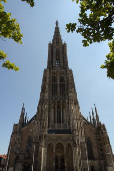 Free Medieval Cathedral Of Ulm, In Southern Germany Royalty Free Stock Images - 20555279