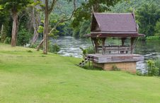 Free Thai Wooden House Royalty Free Stock Photography - 20555877