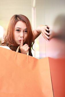 Free Shopping Woman Royalty Free Stock Image - 20556086