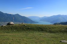 Free Trekking On Como Lake Royalty Free Stock Photography - 20556597