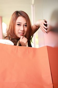 Free Shopping Woman Royalty Free Stock Photo - 20556725