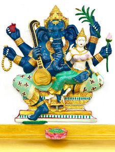 Free Indian God Ganesha Or Hindu God Royalty Free Stock Images - 20556929