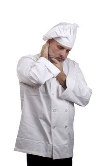 Portrait Of A Chef Royalty Free Stock Photo