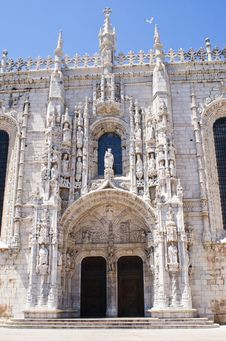 Free Jeronimos Monastery In Lisbon Stock Photos - 20556953