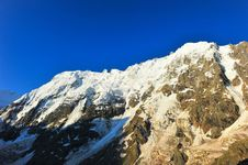 Free Top Of High Mountains, Covered By Snow. Stock Photography - 20557512