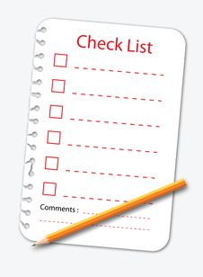 Free Check List Stock Photos - 20557673