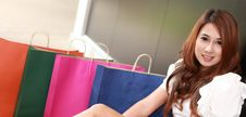 Free Shopping Woman Stock Photo - 20557680