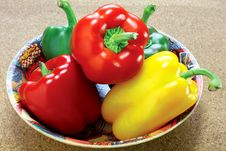 Free Peppers Royalty Free Stock Photography - 20557747