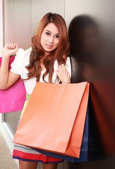 Free Shopping Woman Stock Photo - 20557750