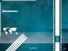 Free Technology Background Vector Stock Photography - 20558012