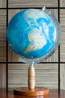 Free Earth Globe America Stock Images - 20559014