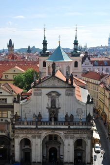 Free The Steeples Of Prague Royalty Free Stock Image - 20559636