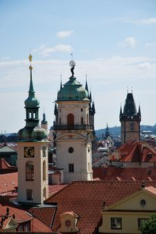 Free Steeples Of Prague Stock Images - 20559704